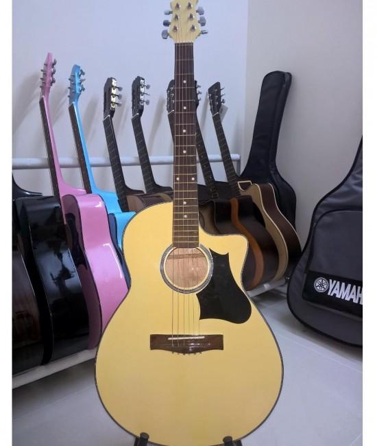 Acoustic guitar DVE85 vàng
