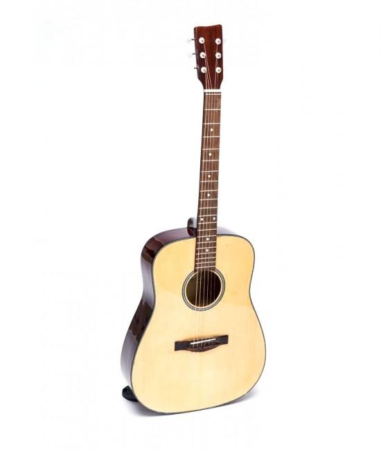 Acoustic guitar DVE70D màu gỗ