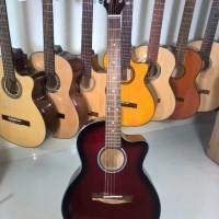 Acoustic guitar DVE85RS red sunburst